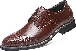 [DOUERY LTD] ビジネスシューズ フォーマル ポインテッドトゥ メンズ 靴 メンズシューズ ビジネス ストレートチップ おしゃれ 紳士靴 2019 春 夏 トレンド