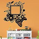 mlpnko Spielekonsole Home Decoration Wandaufkleber