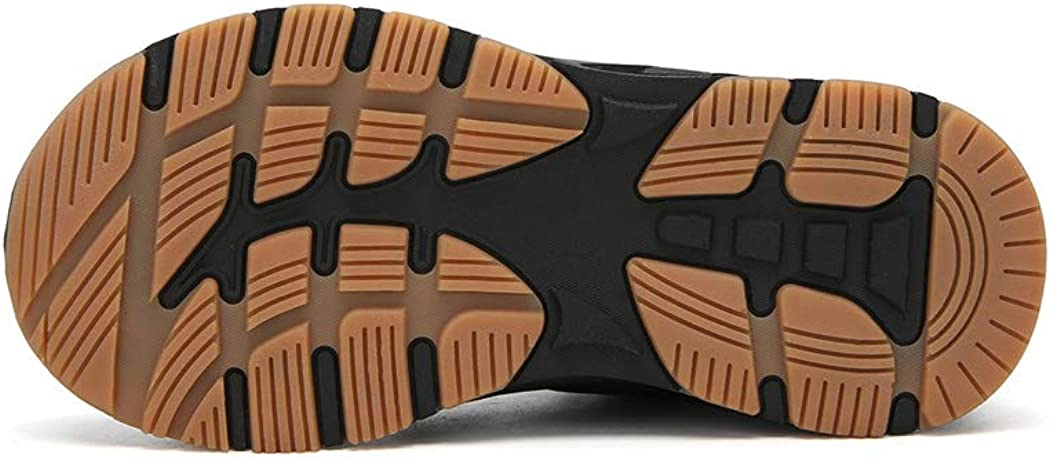 Veluckin Kids Camouflage Snow Boots Boys Winter Warm Hiking Shoes
