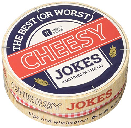 Talking Tables Cheesy Jokes for Fathers Day, Birthday or Christmas Presents, 64 Cards