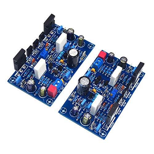 P Prettyia 2pcs Amplificador de Potencia Clase A Módulo FET Tablero PCB Fácil de Instalación
