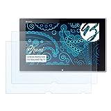 Bruni Película Protectora para Sony VAIO Tap 11 Protector Película, Claro Lámina Protectora (2X)