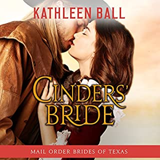 Cinders' Bride     Mail Order Brides of Texas, Book 1              By:                                                                                                                                 Kathleen Ball                               Narrated by:                                                                                                                                 Julie Hoverson                      Length: 5 hrs and 15 mins     91 ratings     Overall 4.2