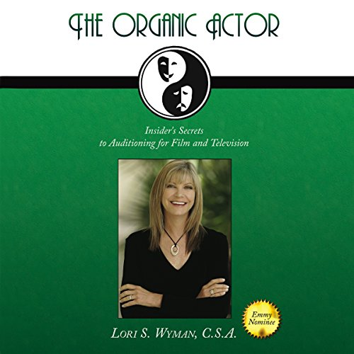 The Organic Actor audiobook cover art