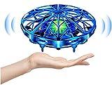 UTTORA Mini UFO Drone con Luce per Adulti e Bambini Giocattoli Educativi Sensore a Infrarossi...
