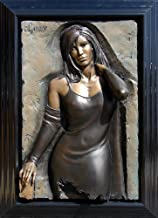 Bill Mack Limited Edition Relief Sculpture in Bonded Bronze Entitled, Enchanting