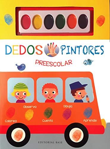 Dedos Pintores Preescolar (Libro Amarillo): 33 (Base Kids)