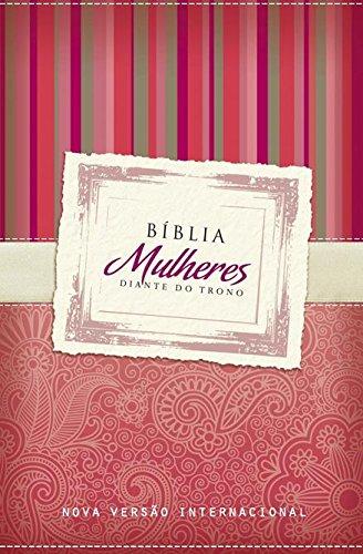 Bíblia Mulheres Diante do Trono. Vermelha Listras