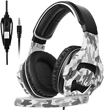 Sades SA8103.5mm Jack sopra l' orecchio Cuffie stereo Bass Gaming Headset auricolare con microfono Noise Isolating Volume per Nuove Xbox un PS4PC Laptop MAC IPAD IPOD - Trova i prezzi più bassi