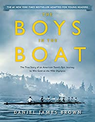 blue book cover boys in the boat young adult