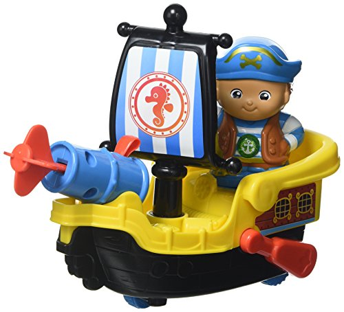 VTech 178803 Sonnez Amis Royaume Capitaine Bob et Son Radeau, Multi
