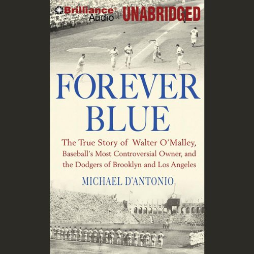 Forever Blue audiobook cover art