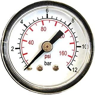 Valbrass 0-1 BAR MANOMETRO Dn.63 CON GLICERINA-ATTACCO 1//4 RADIALE CASSA INOX