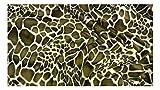 Fabrics-City BRAUN GIRAFFE TIERFELL STOFF FELLIMITAT