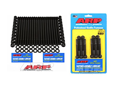 ARP Head Stud Kit Compatible with 6.0L Powerstroke diesel Bundle w/ M8 Inner Row - Bolts