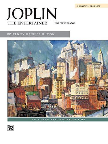 Joplin the entertainer pf bk piano: Sheet (Alfred Masterwork Edition)