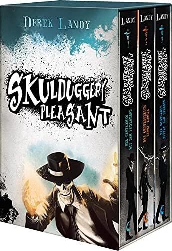 Skulduggery Pleasant, Bände 1-3: Geschenkschuber