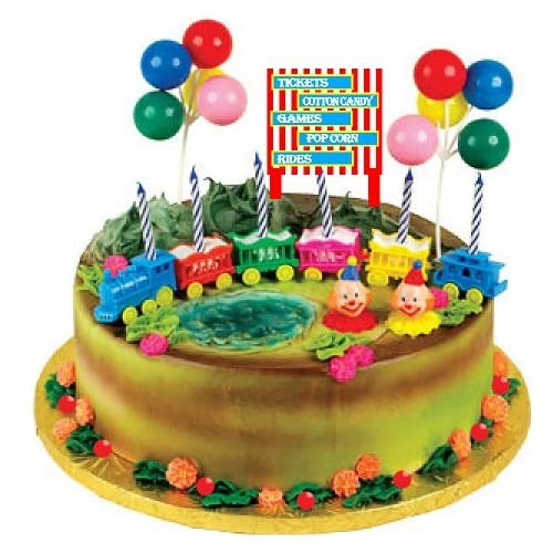 Terrific Circus Cake Amazon Com Personalised Birthday Cards Veneteletsinfo