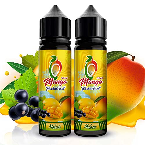 E-liquid 2 x 50 ml Mango Blackcurrant maduro mezclado con...