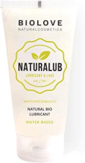 comprar comparacion Biolove Naturalub Gel Lubricante sexual waterbased 100% natural sin parabenos, sulfatos ni siliconas