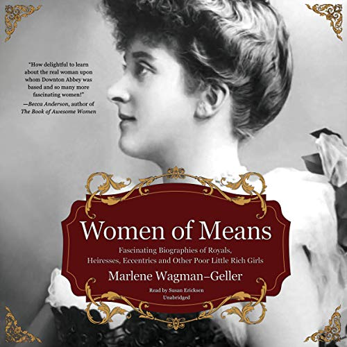 Women of Means audiobook cover art