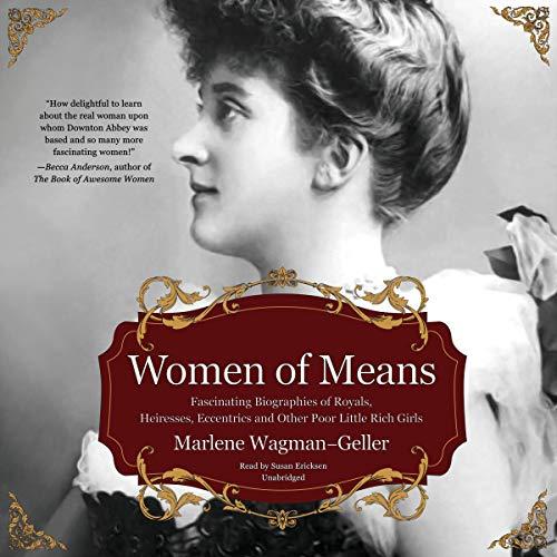 Women of Means Audiobook By Marlene Wagman-Geller cover art