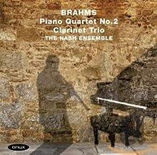Brahms: Piano Quartet No.2 Clarinet Trio