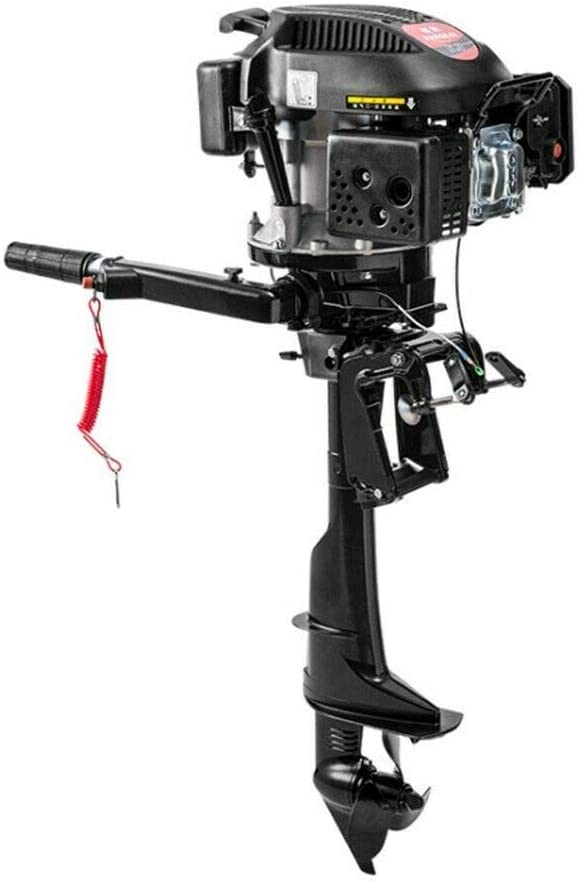 DNYSYSJ We OFFer at cheap prices Gas Outboard Motor Fishing latest Boat Air with Cooling Engine