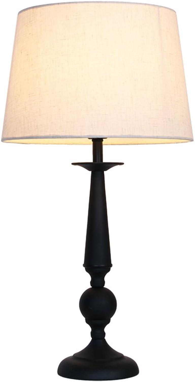 Meters Nordic Amerikanischen Stil Eisen Tischlampe Wohnzimmer Studie Bett Schlafzimmer Bett Lampe Einfache Moderne Mode Kreative Lampe B0778TCYLQ   Charmantes Design