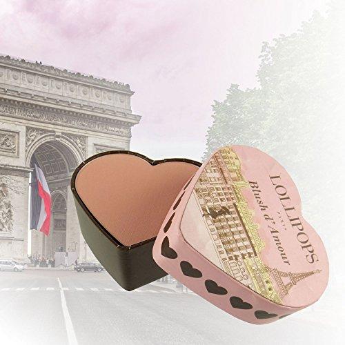 Lollipops Paris Blush d'Amour - B03 Blush Rose - Polvo Compacto Rouge Maquillaje 9g