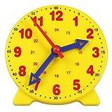 Camelize-Lernuhr, Lernspiel Uhr,Zeitunterrichts- und Demonstrationsuhrmodell, Lernressourcen für Kinder in der frühen Bildung, 4 Zoll 12/24 Stunden ab 4...