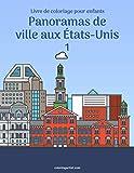 Livre de coloriage pour enfants Panoramas de ville aux États-Unis 1