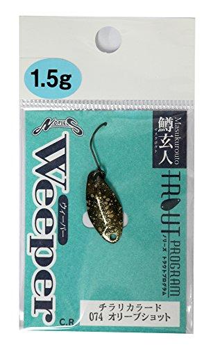 Nories ondulante weeper Trout Program 1.5gr, 074