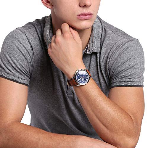 Fossil Grant - Reloj cronógrafo de cuarzo para hombre