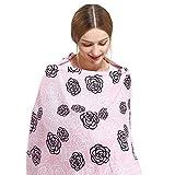 SONARIN Elegante Premium Cubiertas de lactancia,estampado de flores,con bolsa de...