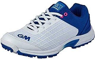 Gunn & Moore 2020 All Rounder Junior Kids Cricket Shoe Blue/White