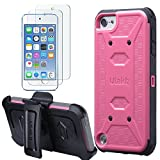 ULAK Case for iPod Touch 7 & 6 & 5 with...
