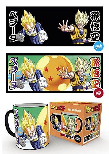 GB Eye, Dragon Ball Z, Saiyans, Taza Mágica cambiante de color