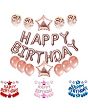 """Magnolia Happy Birthday Balloons Self Inflating 