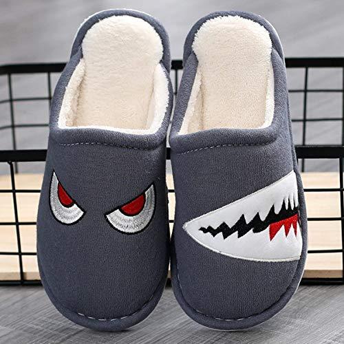 HIUGHJ Mujeres/Hombres Zapatos de Pareja Casa de Invierno Zapatillas Femeninas/Masculinas...