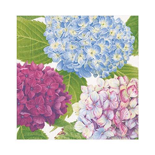 Caspari Entertaining motivo fiori bianchi 20 pezzi Tovaglioli di carta