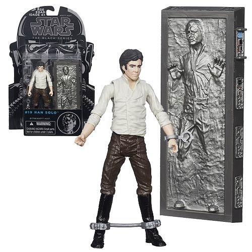 Star Wars Black Series in Han Carbonite 3 3/4-Zoll Abbildung