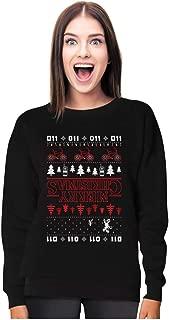 Merry Christmas The Upside Down Ugly Christmas Women Sweatshirt