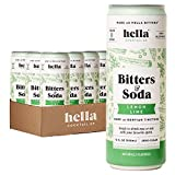 Hella Cocktail Co. Lemon Lime Bitters & Soda - 12oz Cans (Case of 12)...