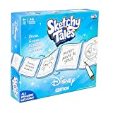Disney Sketchy Tales Board Game | Magical Drawing Disney Game for Kids
