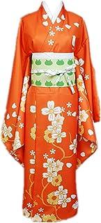 CHANGL 5 unids/Set Disfraz de Cosplay Carnaval de Halloween Danganronpa 2 saionji hiyoko Diario Casual japonés tradición Kimono Trajes de Vestir con Accesorios
