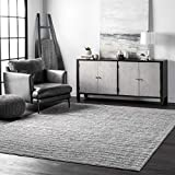 nuLOOM Ripple Contemporary Sherill Area Rug, 5' x 8', Grey, Gray