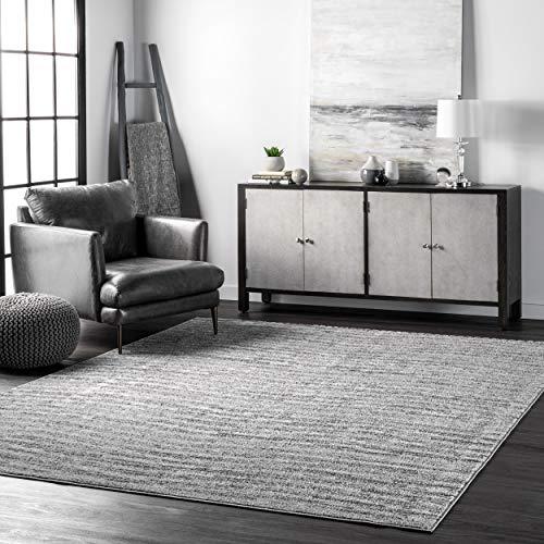 nuLOOM Sherill Ripple Modern Abstract Living Room or Bedroom Area Rug, 3