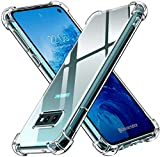 ivoler Funda para Samsung Galaxy S10e / S10 e, Carcasa Protectora Antigolpes Transparente con Cojín Esquina Parachoques, Suave TPU Silicona Caso Delgada Anti-Choques Case