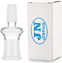 Jianuo Scientic Glass Tube Adapter, 18MM Female to 14MM Male Essential Adapter